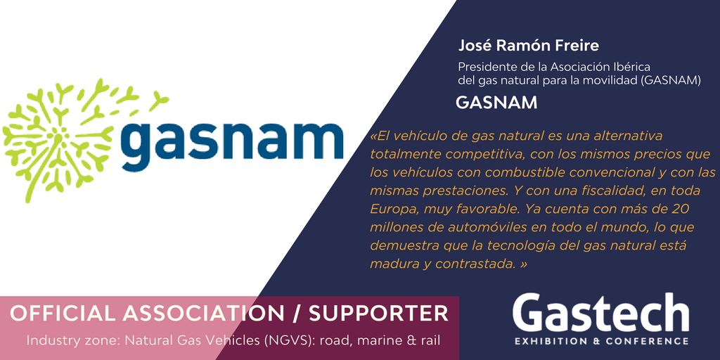 GASNAM en Gastech Exhibition and Conference